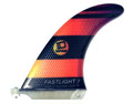 "3D FINS FASTLIGHT 7"" HEXCORE SINGLE FIN"