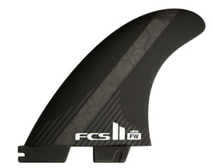FCS FCS�U PC CARBON FW THRUSTER LARGE FIN