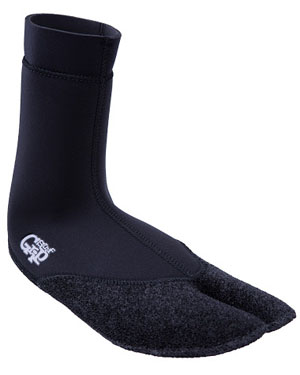 SURF GRIP PREMIUM DRAIN SPLIT SOCKS 3mm