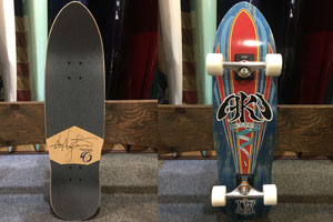 ROOTS SKATEBOARDS AKI �WDECADES COMPLETE (ブルー)