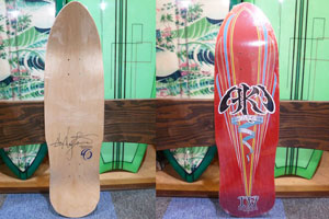 ROOTS SKATEBOARDS AKI �WDECADES (レッド)