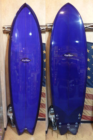 FISH SIMMONS SURFBOARD