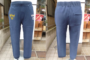 CH46731 SWEAT PANTS (ネイビー)