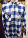 CP27055 TWILL CHECK WORK SHIRTS